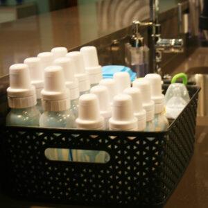 Organize Baby Bottles