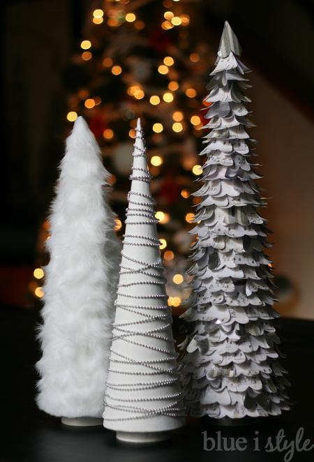 Modern DIY Christmas Trees