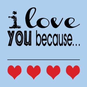 Valentine's Gift Idea - Printable Dry Erase Love Note