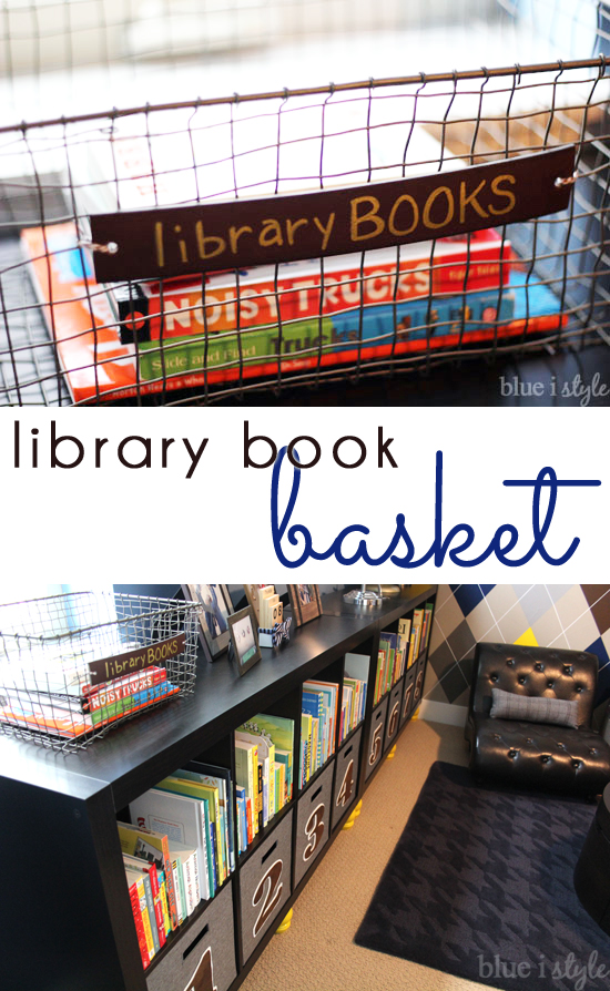 Library Book Basket