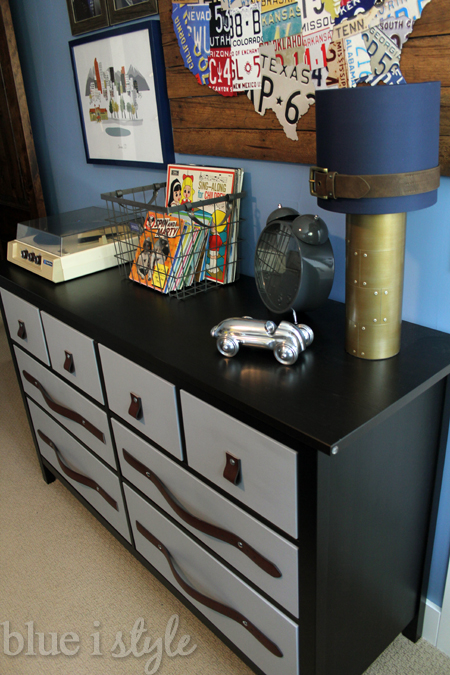 Leather belt drawer pulls for less