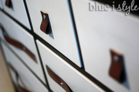 Leather Belt Drawer Pulls