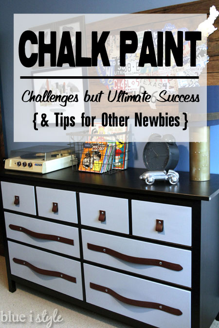 My First Time Using Chalk Paint Challenges But Ultimate Success Blue I Style