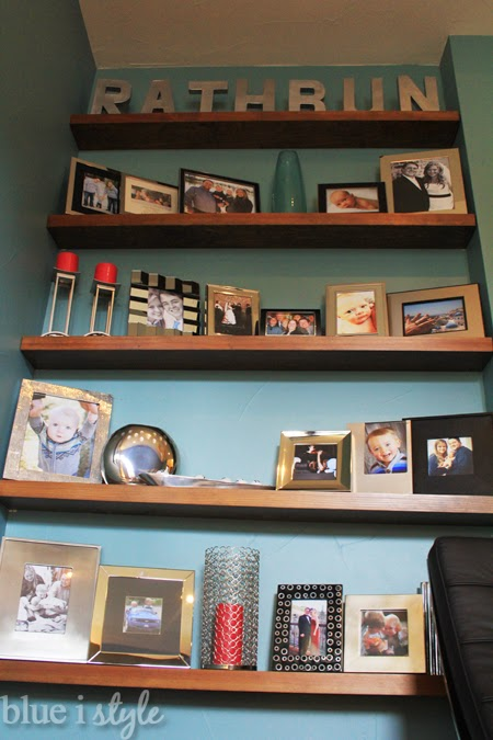 From Awkward Inset to Floating Photo Shelves
