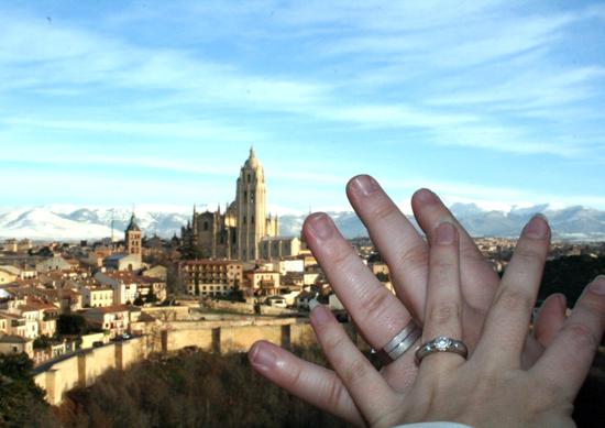 Wedding Ring Selfie Photo Tradition Spain