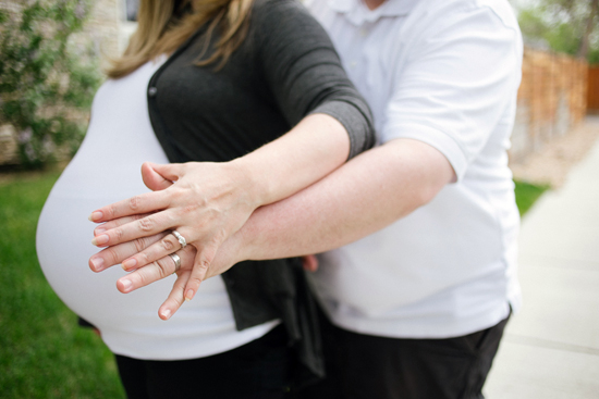 Wedding Ring Selfie Photo Tradition Pregnant Belly