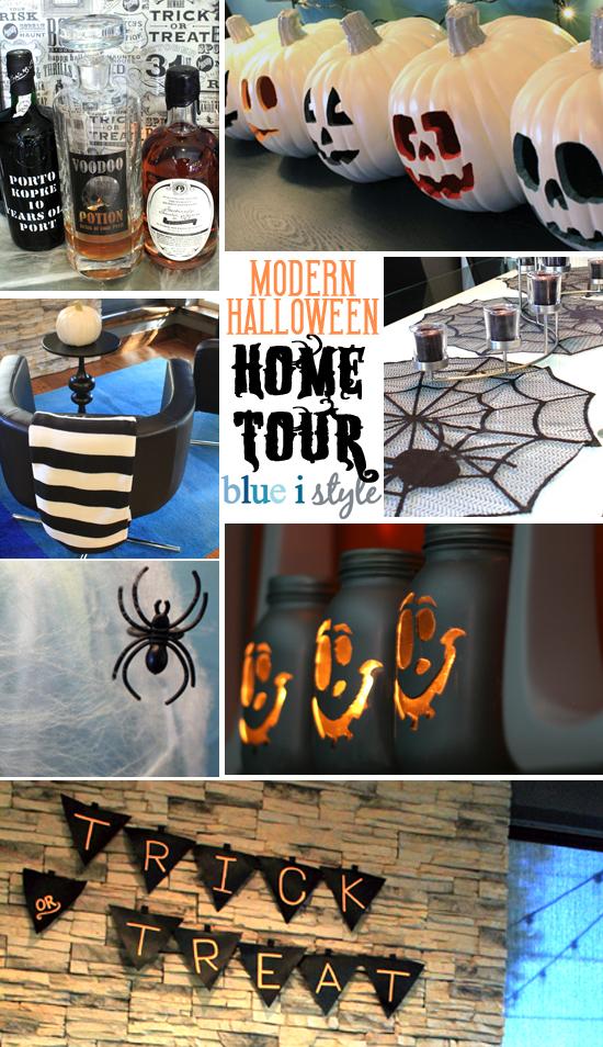 Modern Halloween Home Tour