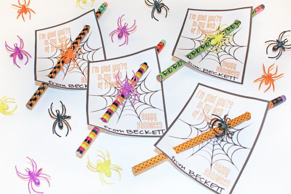 Non-Candy Halloween Treats - Halloween Pencils
