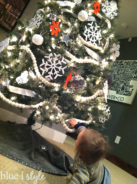 Baby-Proof Christmas Tree