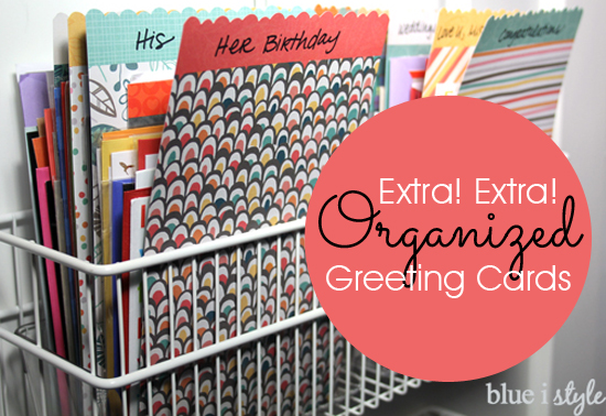 Greeting Card & Stationery Storage