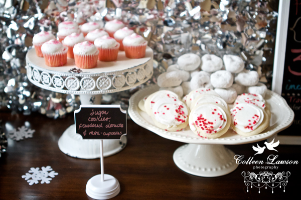Winter Onederland Party Desserts