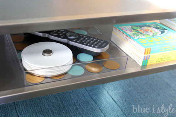 DIY Acrylic Tray for TV Remotes and Coasters