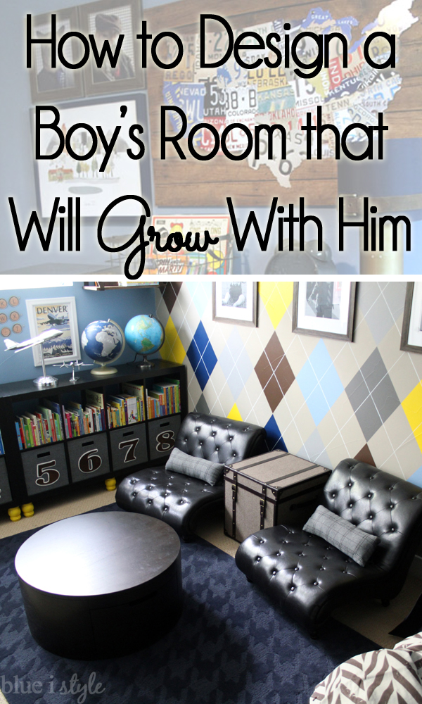 How to Design a Boy's Room that Will Grow With Him
