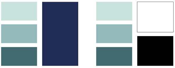 Boy's Room Color Palettes