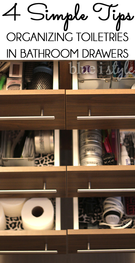 Tips to Organize Bathroom Drawers