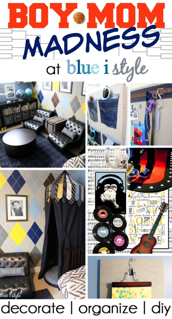 Boy Mom Madness Decorating, Organizing and DIY