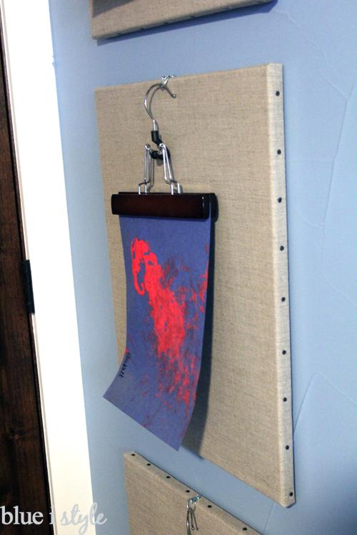 Pant Hanger Art Display