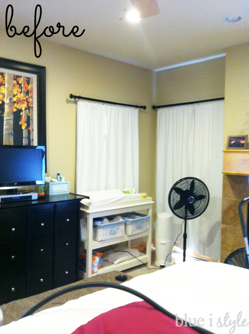 Client Master Bedroom Before
