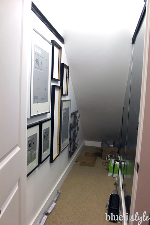 Under Stair Playroom Progress