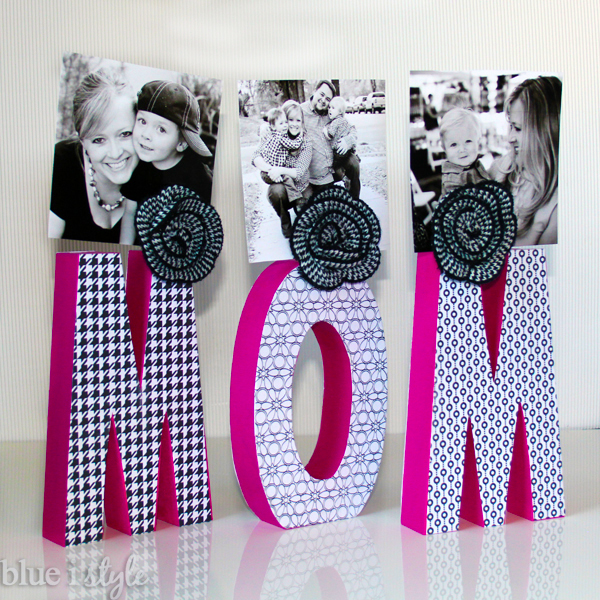 Letter Photo Display Mother's Day Gift