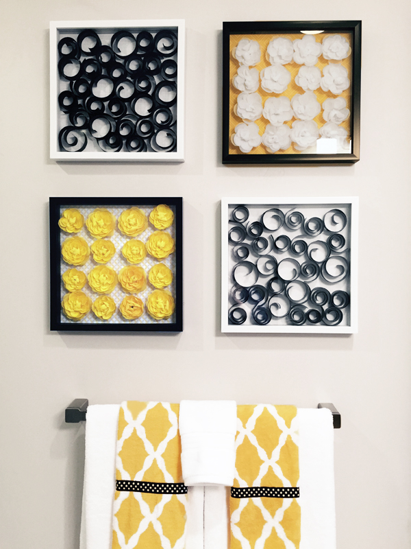 Frame Flowers Wall Art