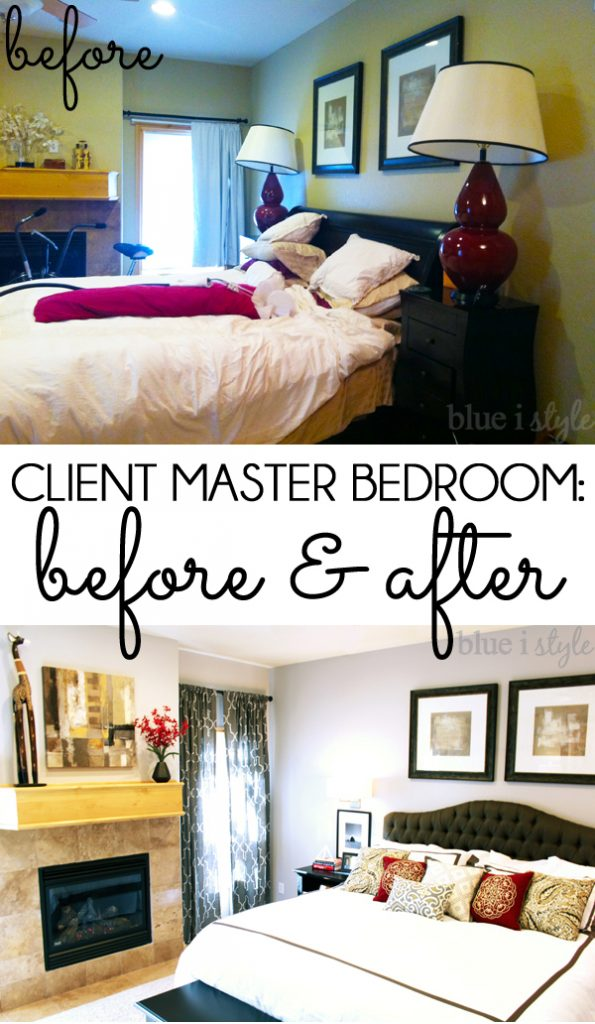 Client Master Bedroom Reveal