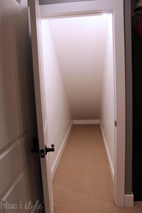 Under Stair Playroom - BEFORE