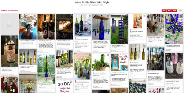 DIY and Craft Projects to Upcycle Wine Bottles
