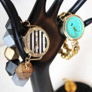 Interchangeable Beaded Watch Bands