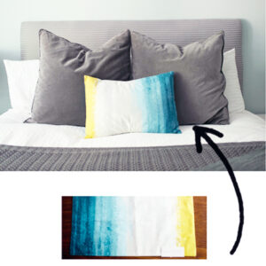 Turn a Placement into a Pillow Cover