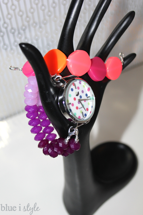 Puple & Pink DIY Beaded Watch Bands