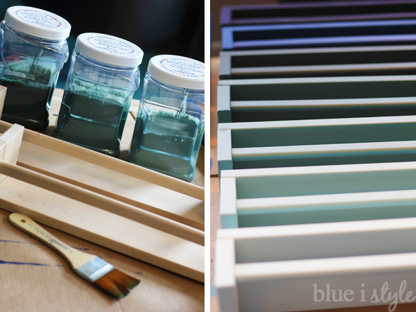 Painting IKEA Spice Racks