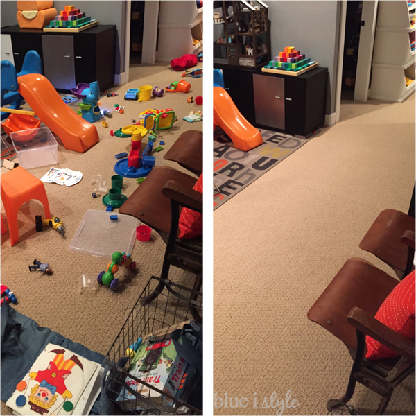 Tips to clean up kids' toys faster