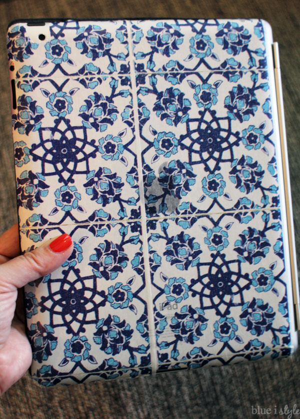 Washi Tape iPad Cover
