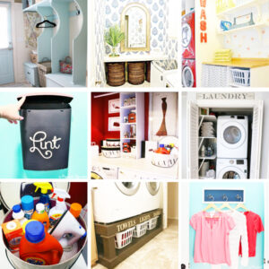 Stylish Laundry Room Organization Ideas