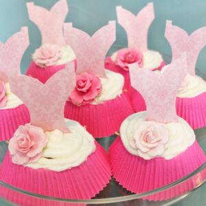 Easy Ballerina Cupcakes