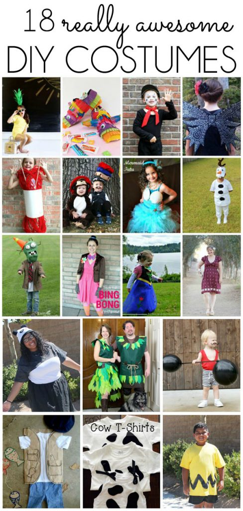 18 DIY Costume Ideas
