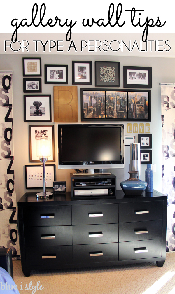 Gallery Wall Tips for Type A Personalities