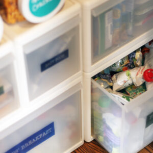 Tip to keep the pantry organized