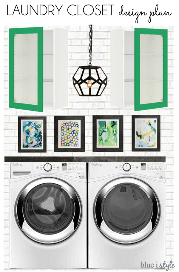 Laundry Closet Makeover Plans