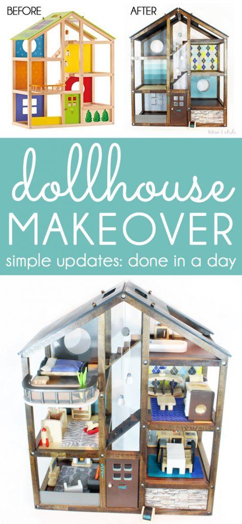 DIY Dollhouse Makeover