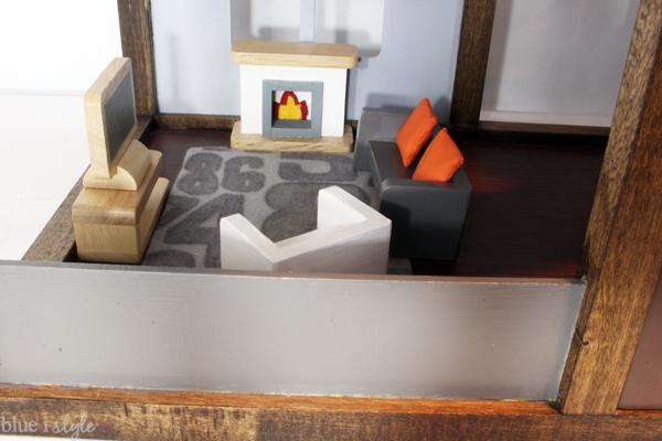 Dollhouse Family Room