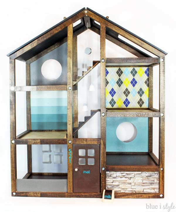 DIY Dollhouse Wallpaper