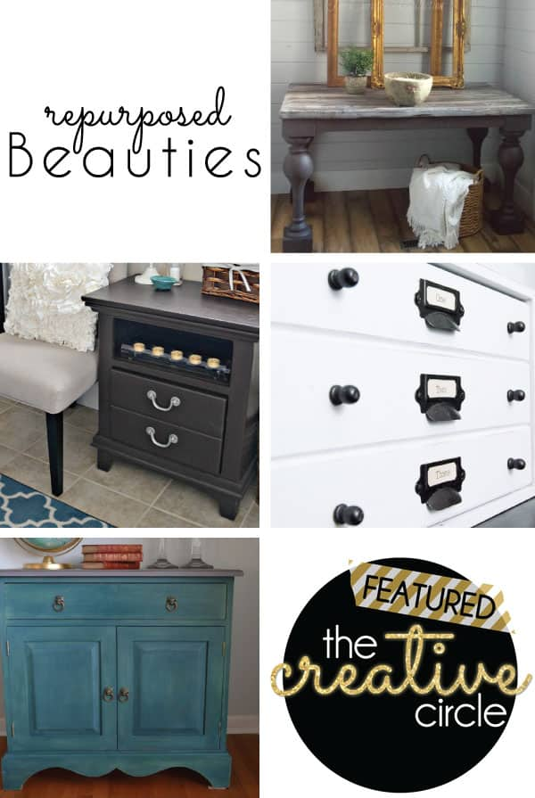 Repurposed Furniture Makeovers