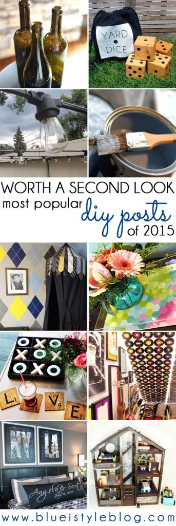 Blue i Style's Most Popular DIY Posts of 2015