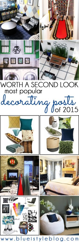 Blue i Style's Most Popular Decorating Posts of 2015