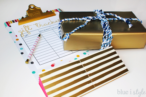 Printable Gift Tracker List