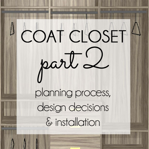 Coat Closet Planning