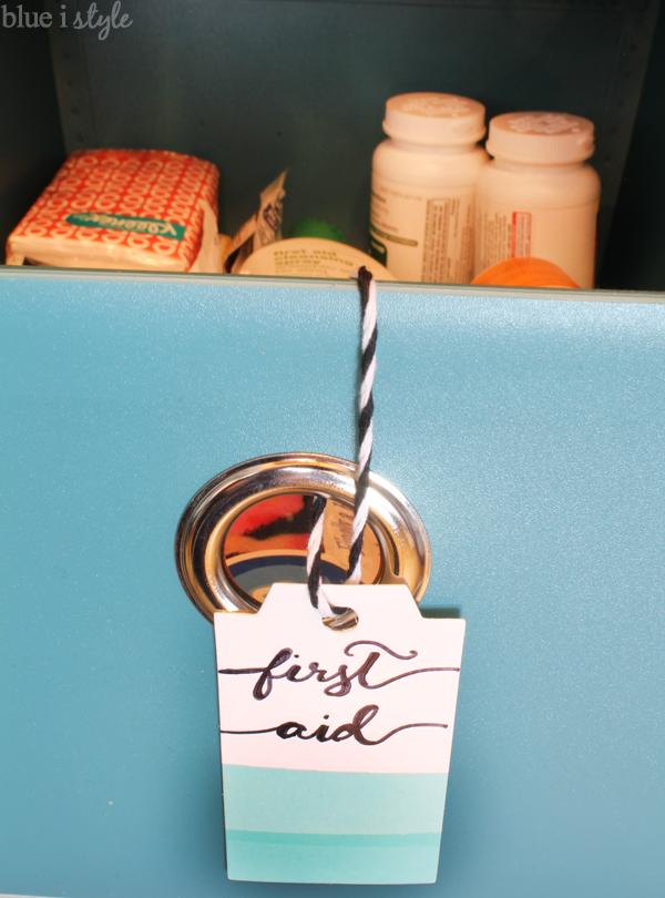 Gift Tag Basket Label