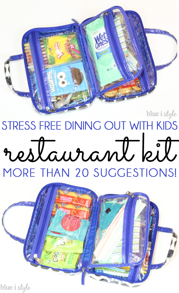 Restaurant Kit for Eating Out with Kids